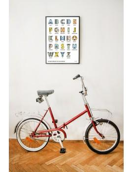 Poster / Alphabet / B1