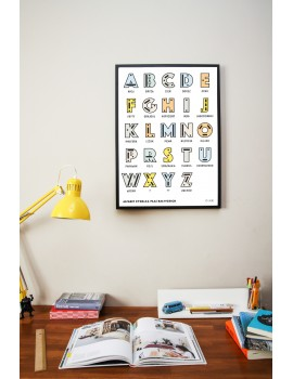 Poster / Alphabet / B2