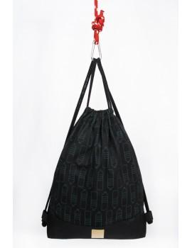 Plecak / Butelki czarne