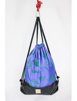 Plecak / Rośliny niebieski